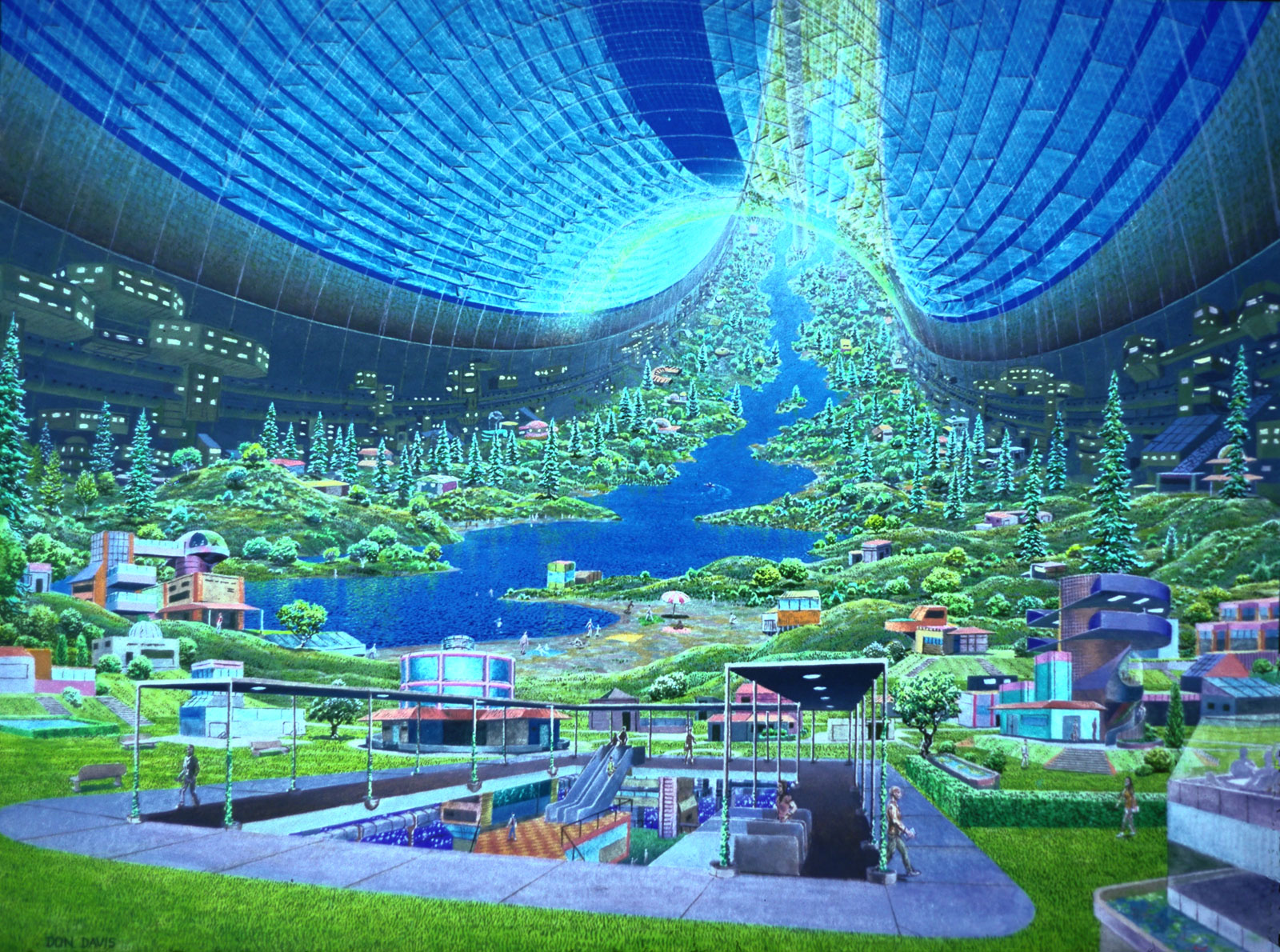 Here is an exle of a utopia
